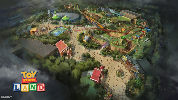 Toy Story Land to be added to Disney Park #ToyStory #D23Expo