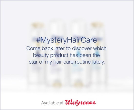 Mystery Shampoo and Conditioner - #MysteryHairCare