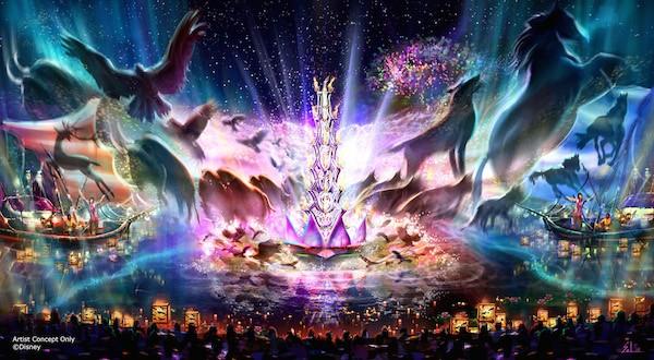 "Walt Disney Parks Animal Kingdom ""Rivers of Light"" #D23Expo"