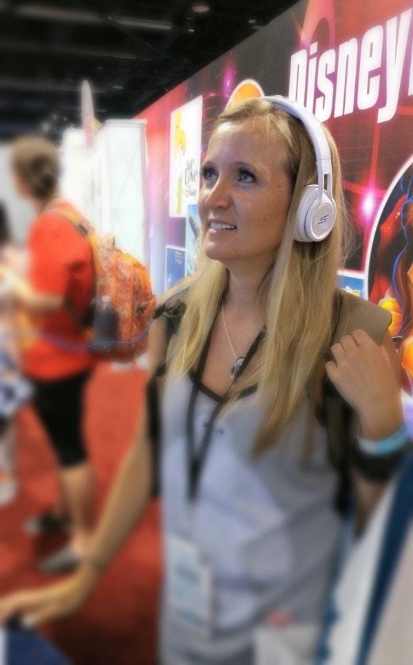 Disney magic coming through those headphones #ShareYourLegacy #D23Expo