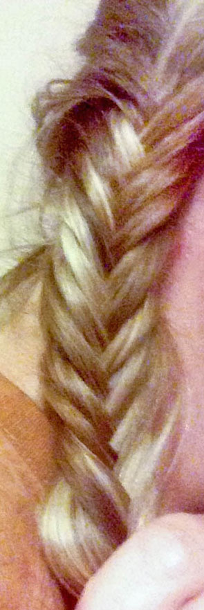 First semi-successful fishtail