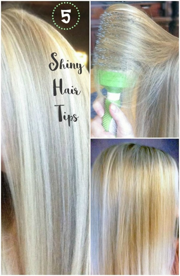 5 Steps to Shiny Hair with Less Frizz #SaveAndShine