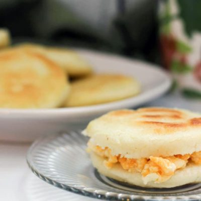 Arepa Breakfast Sandwich Recipe