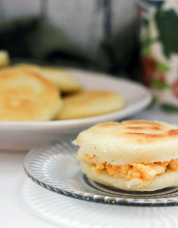 Arepa Breakfast Sandwich Recipe #PANFan