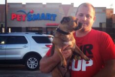 Grump's First Trip to PetSmart for Dog Food #PetSmartStory