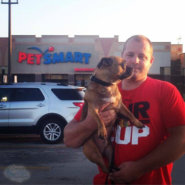Grump's First Trip to PetSmart for Dog Food #PetSmartStory