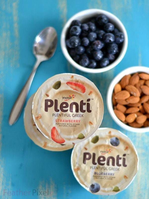 Smarter Snacking with Plenti Greek Yogurt #LandofPlenti #PlentiYogurt