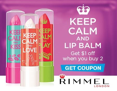 Keep Calm and Lip Balm Savings