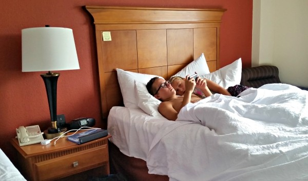 Hampton by Hilton has the comfiest hotel beds #MFRoadTrip #WeGoTogether #spon