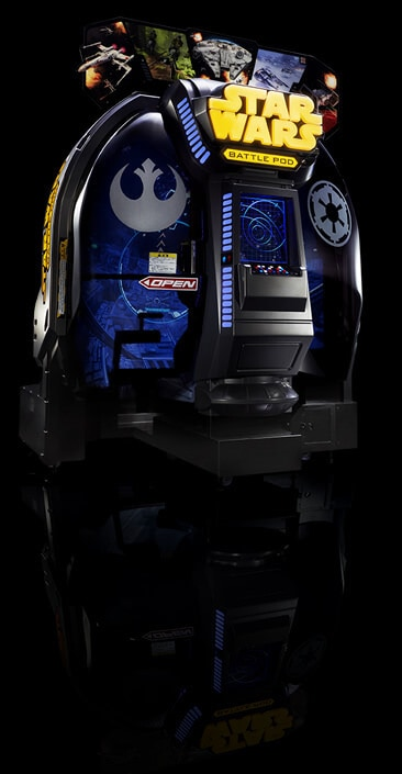 Standard edition Star Wars Battle Pod #D23Expo