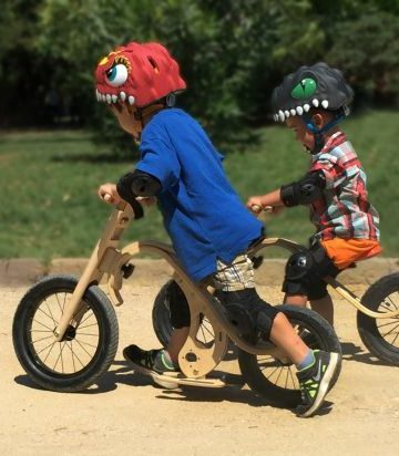 Learning to Ride a Bike can be Fun, Not Frightening