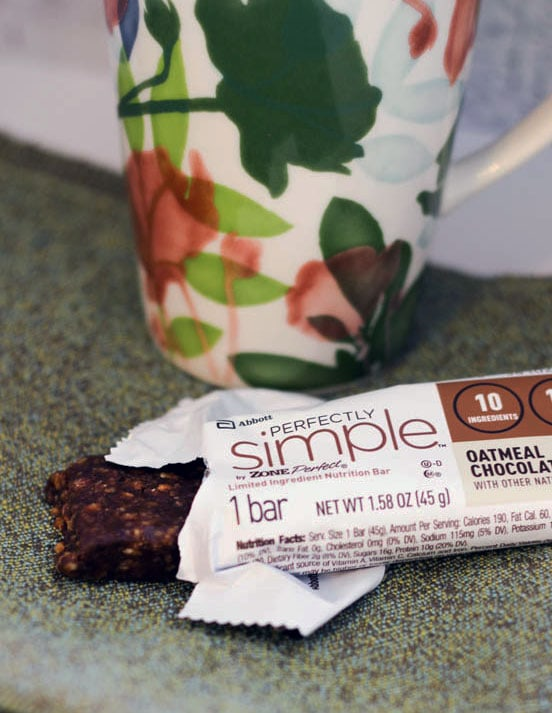 Nutrition Bar with Less Ingredients #FeelGooder