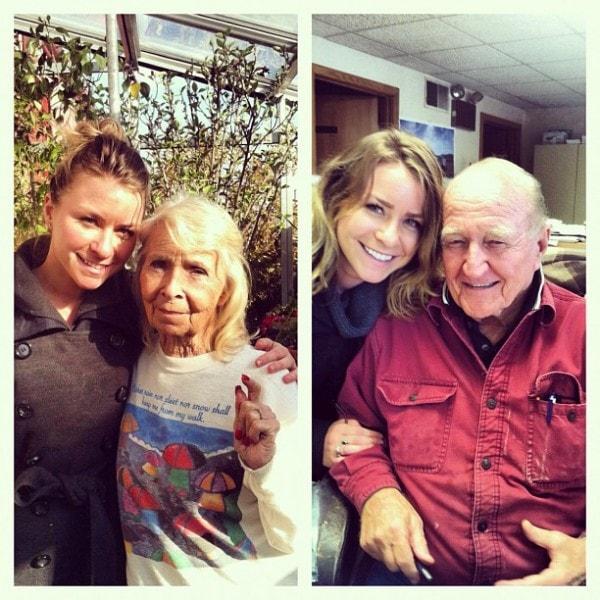 Devan and Grandparents