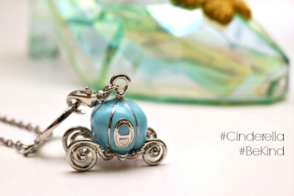 Cinderella special limited offer purchase with purchase necklace. #Cinderella #BeKind