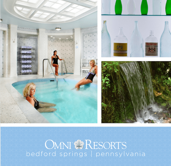 Omni Bedford Springs Resort Spa in Allegheny Mountains #MFRoadTrip