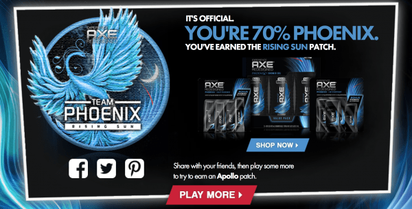 AXE Quiz Team Phoenix or Apollo
