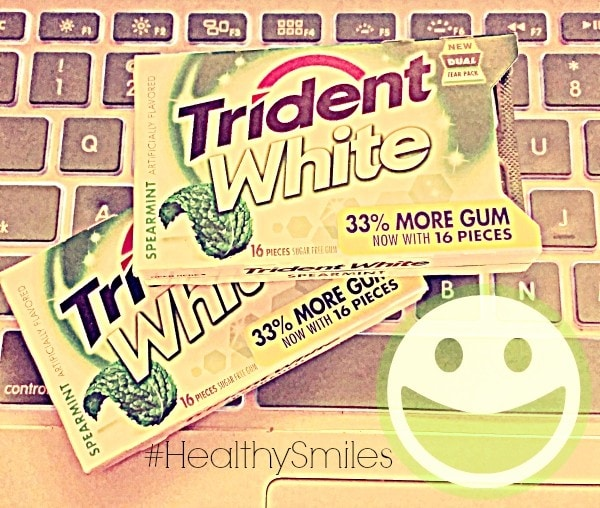 Buy Trident chewing gum during the week of 9/20/2015 and help support a great cause! #HealthySmiles #sponsored