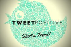 Positive Tweeting to Encourage Positive Thinking