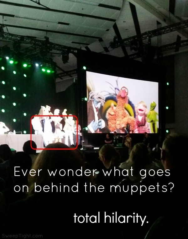 Don't miss the season premiere of The Muppets on ABC #TheMuppets #D23Expo