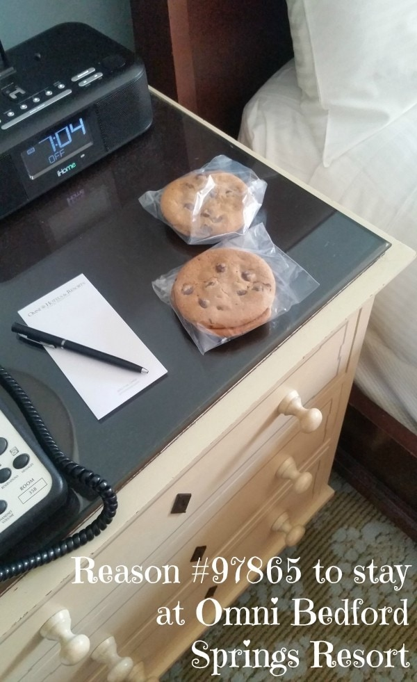 Best resort ever. Cookies. Allegheny Mountains #MFRoadTrip