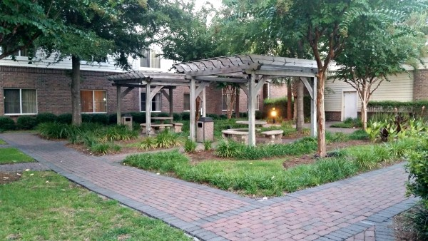 Homewood Suites Courtyard Charleston South Carolina #MFRoadTrip