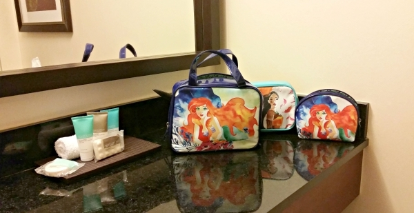 Disney makeup bags available at Walgreens #spon