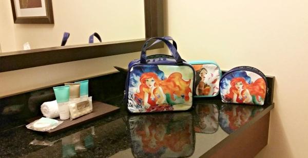 Disney makeup bags available at Walgreens #spon