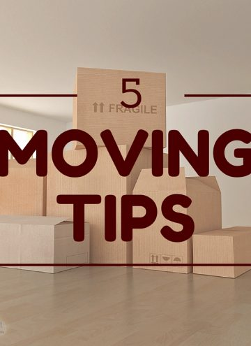 5 Moving Tips for a Less Stressful Move