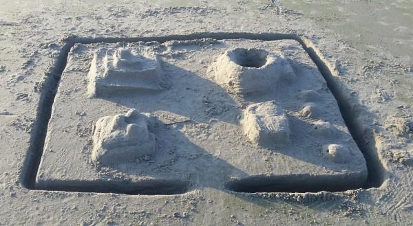 Sandcastle at Isle of Palms beach South Carolina #MFRoadTrip