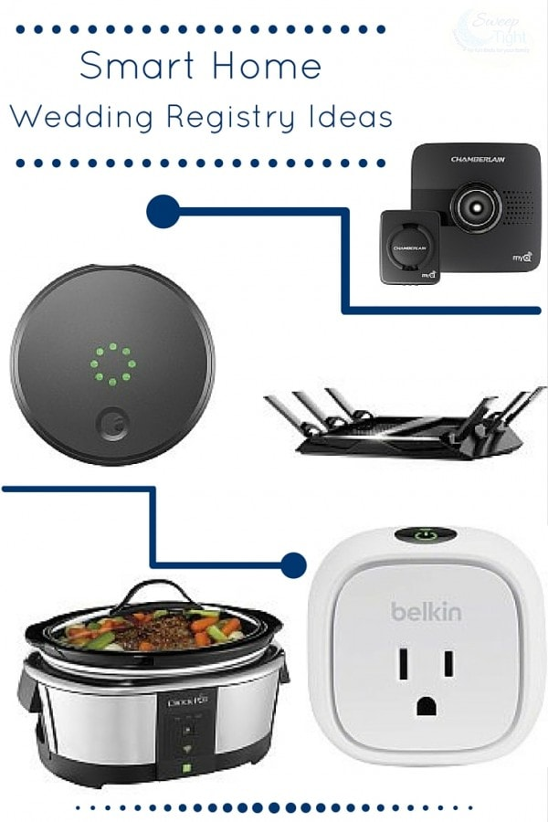 5 wedding registry ideas for a smart home a magical mess for At home wedding registry