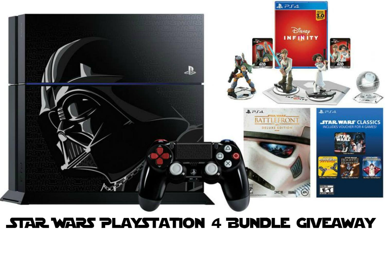 Limited Edition Star Wars PS4 Giveaway – SECOND CHANCE