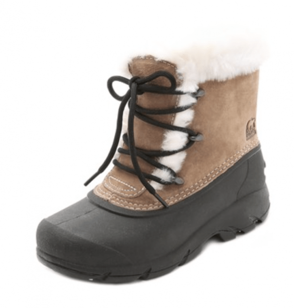 Sorel Snow Angel lace-up winter boots