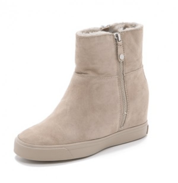 DKNY Wedge Booties