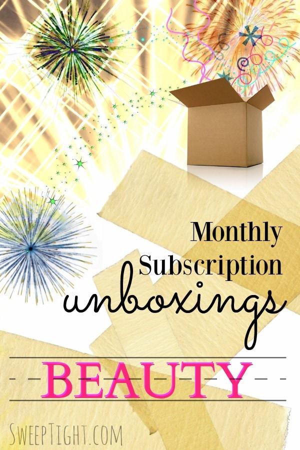 Beauty Subscription Boxes Unboxing Videos