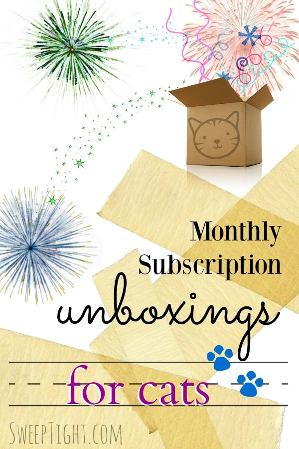 Subscription Boxes for Cats Unboxing Videos