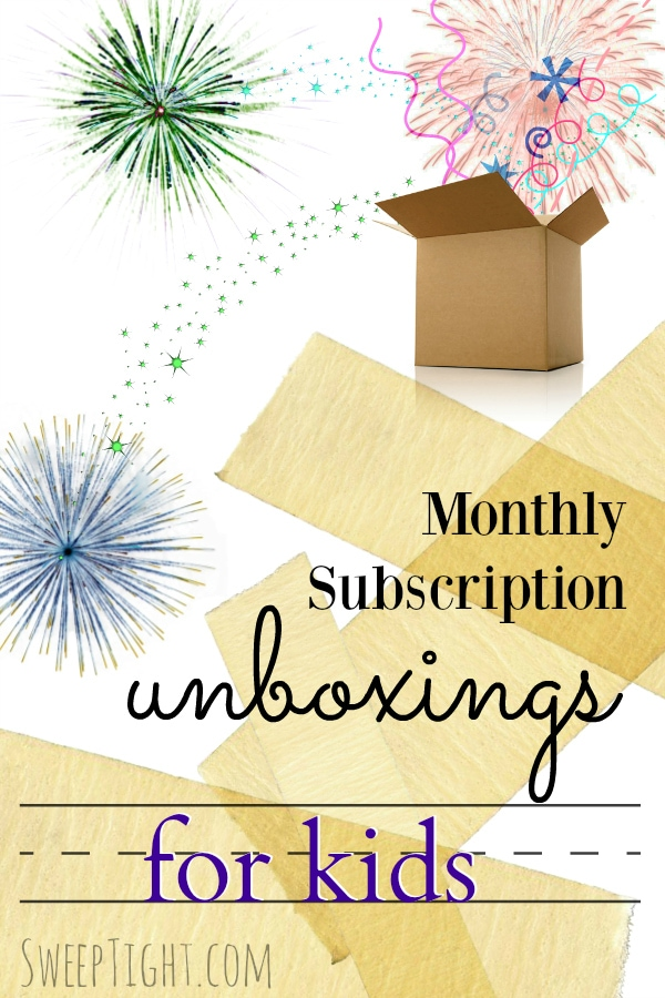 Kids' Monthly Subscription Boxes Unboxing Videos