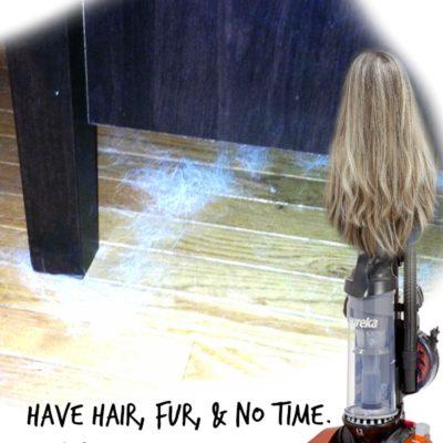 Vacuuming is Easier with Eureka Brushroll Clean