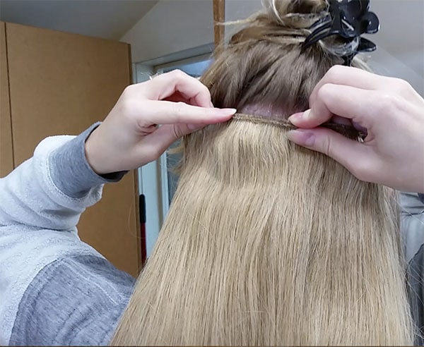 putting in extensions