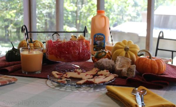 TruMoo Orange Scream Milk is so fun for easy Halloween Recipes!