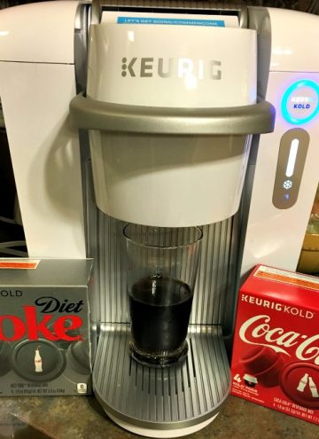 Make Coca-Cola at Home with Keurig Kold