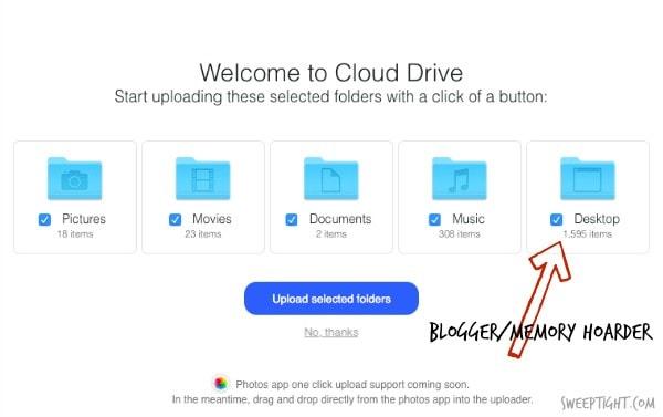 Had no idea I had unlimited storage with my Amazon Prime membership! LOVE IT! Amazon Cloud Drive #AMZNCloudDrive #ad