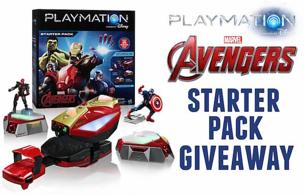 Marvel Avengers Playmation Starter Pack Giveaway