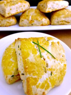 Savory Cheddar and Chive Scones Recipe