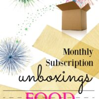 Food Subscription Boxes Unboxing Videos