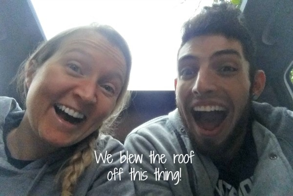 Haha we're funny - 2016 Kia Sorento