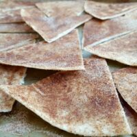 Baked Cinnamon Chips with Pumpkin Pie Dip Recipe