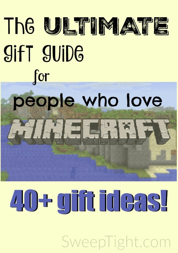 Who doesn't love Minecraft?! Check out this gift guide with over 40 ideas!