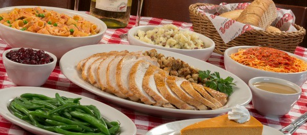 Buca di Beppo Thanksgiving Dinner options
