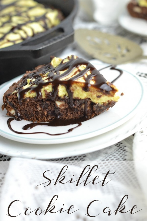 Cookie Cake in a Skillet Recipe
