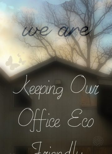 7 Eco Friendly Ways we are Keeping Our Office Greener